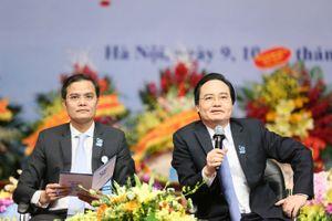 Bộ trưởng Phùng Xuân Nhạ: Sinh viên phải được 'nhúng mình' vào doanh nghiệp