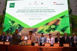 Hậu Giang ký 11 thỏa thuận hợp tác sản xuất, chế biến, xuất khầu nông sản