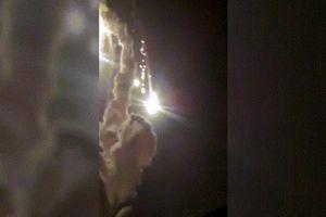 Tên lửa Nga nổ tung như pháo hoa ngay khi rời bệ phóng