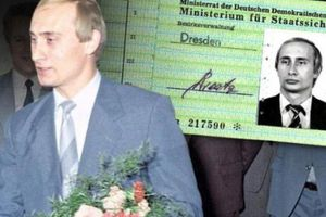 Nóng: Putin từng là điệp viên Đông Đức?