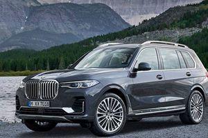 BMW X7 2019 thêm trang bị khủng giá từ 1,7 tỷ đồng