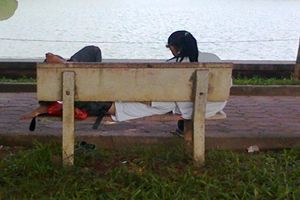 TPHCM: Vào công viên tâm sự, đôi tình nhân bị 'lột' sạch tài sản