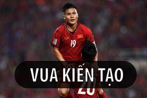 Ở Việt Nam, ai kiến tạo giỏi bằng Quang Hải!