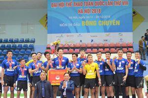 Đại hội thể thao toàn quốc: Bóng chuyền nam Khánh Hòa lần đầu lên ngôi