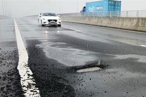 VEC lên tiếng về việc cao tốc Đà Nẵng - Quảng Ngãi tiếp tục bị hư hỏng