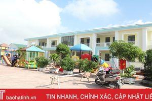 Niềm vui từ những ngôi trường mới ở Lộc Hà