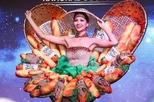 Váy 'Bánh mì' của H'hen Niê lọt vào top 10 Trang phục truyền thống đẹp nhất Miss Universe 2018