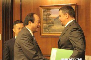 Việt Nam-Nga thúc đẩy hợp tác trong xây dựng chính phủ điện tử