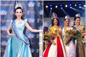 Châu Ngọc Bích giành giải Mrs Universe Ltd 2018, đại diện Monaco đăng quang