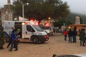 Gần 60 người thương vong do nổ pháo hoa