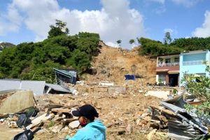 Nha Trang: Chủ dự án gây sạt lở đề nghị tỉnh lo đất ở cho nạn nhân