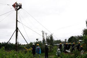 PC Quảng Nam cơ bản khắc phục sự cố lưới điện do mưa lũ