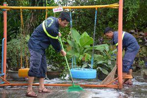 Công an tỉnh Quảng Nam giúp người dân khắc phụ sau lũ