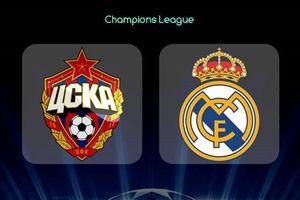 Real Madrid - CSKA Moskva: Trận chiến vì danh dự