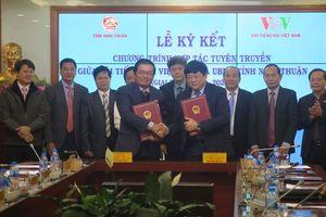 Đài TNVN ký hợp tác tuyên truyền với tỉnh Ninh Thuận