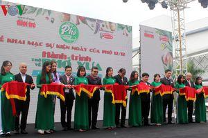 'Ngày của Phở' tôn vinh thương hiệu và hương vị độc đáo Việt Nam