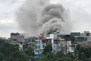 Kịp thời khống chế đám cháy xảy ra tại quán karaoke ở phường Phúc Tân