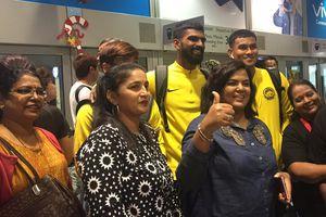 Tuyển Malaysia lên đường đến Hà Nội đá chung kết lượt về AFF Cup