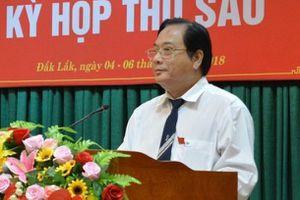 Phó chủ tịch thường trực HĐND Đắk Lắk chưa có bằng đại học