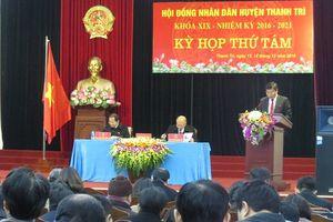 Khai mạc kỳ họp thứ 8 HĐND huyện Thanh Trì khóa XIX
