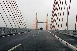 Cao tốc Hạ Long - Hải Phòng: Chốt ngày sửa chữa mặt cầu Bạch Đằng