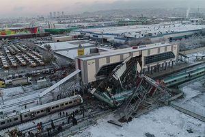 Số người thiệt mạng tăng nhanh trong vụ tai nạn tàu cao tốc tại Thổ Nhĩ Kỳ