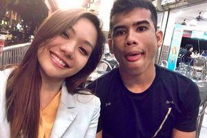 Nhan sắc cuốn hút của bạn gái sao trẻ Malaysia vừa phá lưới Việt Nam