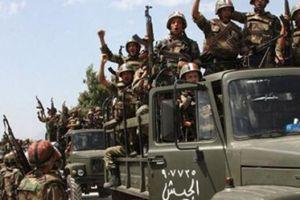 Binh sĩ Syria ồ ạt hành quân tới phía Bắc diệt khủng bố