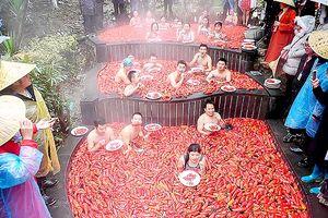 Thi ăn ớt