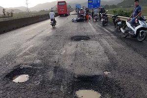 Tai nạn chết người do QL1 hư hỏng, Bộ GTVT yêu cầu xử lý trách nhiệm
