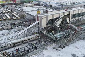 Cận cảnh hậu trường vụ tai nạn tàu cao tốc ở Ankara