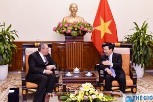 Phó Thủ tướng Phạm Bình Minh tiếp Đại sứ Ai Cập Mahmoud Hasan Nayel