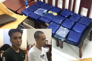 Bắt quả tang 2 đối tượng vận chuyển 19kg ma túy tổng hợp