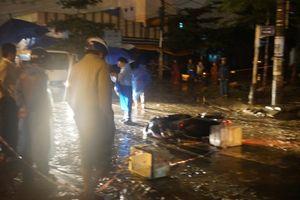 Thêm một phụ nữ tử vong do vướng dây điện rơi xuống đường