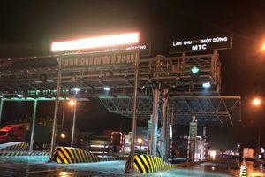 Thu phí BOT quốc lộ 10 đoạn từ cầu Quán Toan đến cầu Nghìn từ 4.1.2019