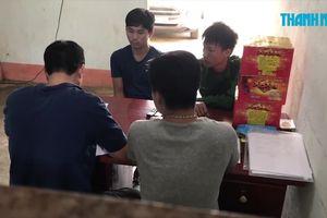 Thanh niên giấu pháo lậu trong nhà bếp còn dương tính với ma túy đá