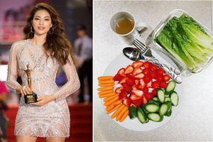 Muốn dáng đẹp, eo thon như Phạm Hương hãy ăn theo thực đơn này của cô ấy