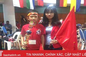 Học sinh Hà Tĩnh giành Á quân 1 cuộc thi quốc tế UCMAS
