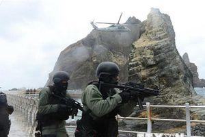 Hàn Quốc diễn tập bảo vệ quần đảo tranh chấp với Nhật Bản