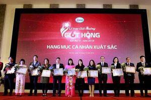 Trao giải thưởng 'Giọt hồng' về phong trào hiến máu tình nguyện