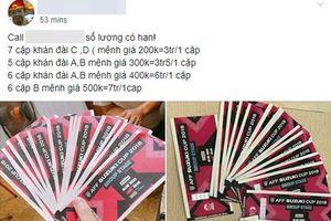 Vé chợ đen tràn ngập trên Facebook, iPhone sắp được gắn nhãn 'Made in Vietnam'