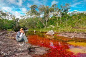 Chiêm ngưỡng vẻ đẹp của dòng sông ngũ sắc ở Colombia