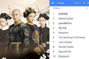 Không chỉ đứng đầu, 'Diên Hi công lược' còn là phim truyền hình Hoa Ngữ được tìm kiếm nhiều nhất Google toàn cầu 2018