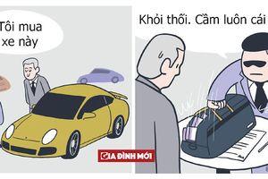 Truyện tranh hài hước của họa sĩ Malaysia cho thấy 'rich guy' thật sự là như thế nào