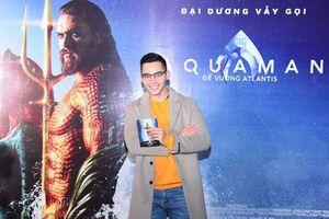 MC Mạnh Khang cùng dàn sao Việt đổ bộ tới rạp xem Aquaman: Đế Vương Atlantis