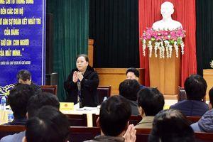 Chủ tịch HĐND TP Hà Nội tiếp xúc cử tri tại quận Hà Đông