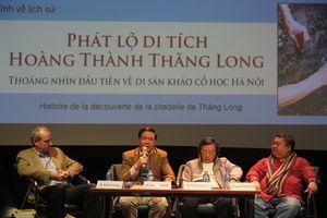 Sách 'Phát lộ di tích Hoàng Thành Thăng Long': Câu chuyện từ lòng đất