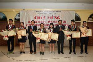 Hà Nội tuyên dương đoàn học sinh đạt thành tích xuất sắc kỳ thi IJSO 2018