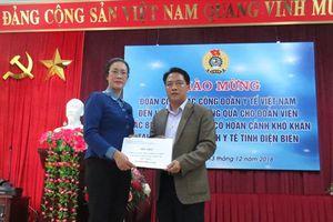 Công đoàn Y tế VN hỗ trợ đoàn viên mắc bệnh hiểm nghèo tại Điện Biên
