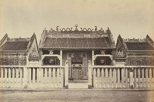Chùa Bà Thiên Hậu ở Chợ Lớn qua loạt ảnh trăm tuổi